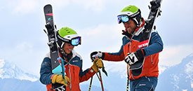 Skitechnikschule in Oberstdorf