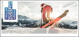 Skifahren in der Gruppe
