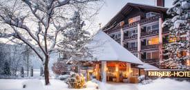 Eibsee-Hotel am Fuße der Zugspitze