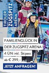 Familienurlaub auf der Zugspitz Arena