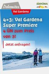 4=3 Val Gardena SuperPremiere