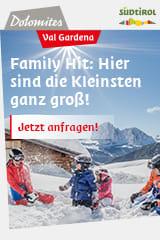 Familienurlaub in Gröden